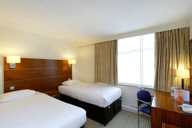 Standard Twin Room at Ramada Hotel in Solihull, Birmingham